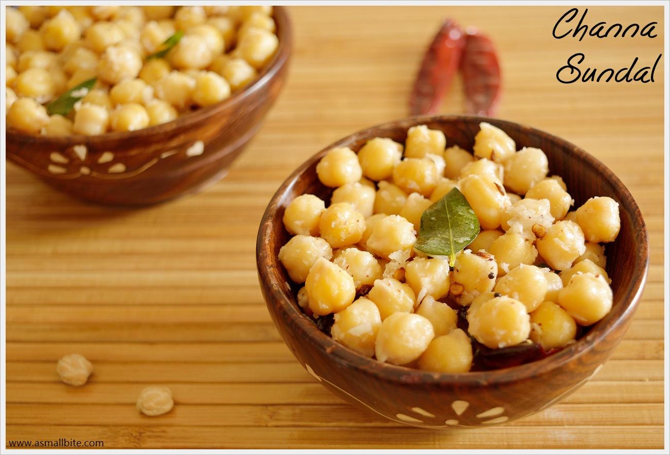 Channa Sundal Recipe | Kondakadalai Sundal | Chickpea Sundal