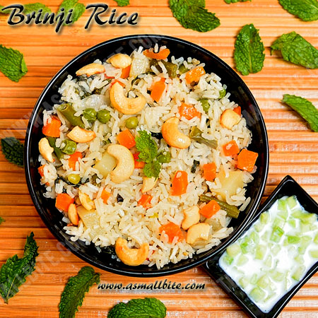 Brinji Rice Recipe 1