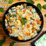 Brinji Rice Recipe | Bay Leaf Pulao | Vegetable Brinji Sadham