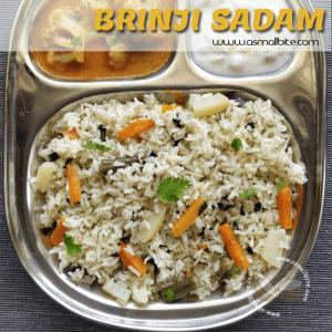 Brinji Sadam Recipe