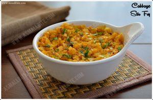 Cabbage Curry Recipe