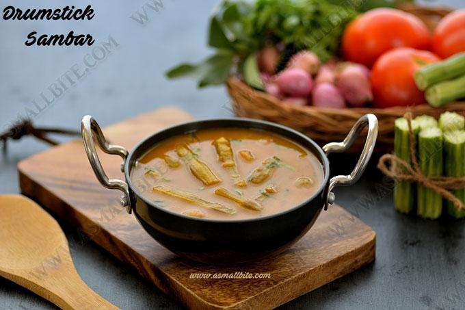 Murungakkai Sambar Recipe 1