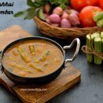 Drumstick Sambar Recipe | Murungakkai Sambar Recipe