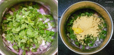 Onion Pakoda Step1