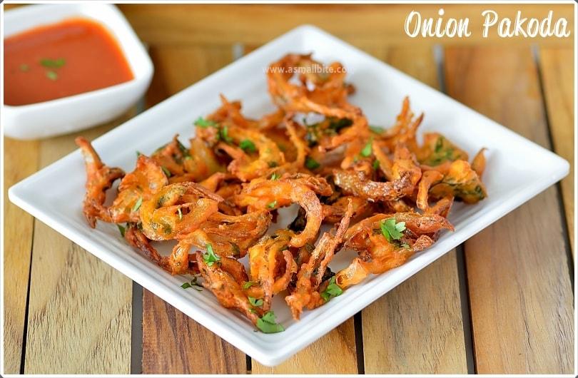 Vengaya Pakoda Recipe
