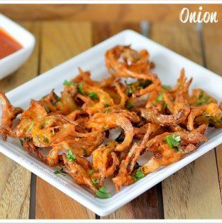 Onion Pakoda Recipe Vengaya Pakoda Recipe Asmallbite