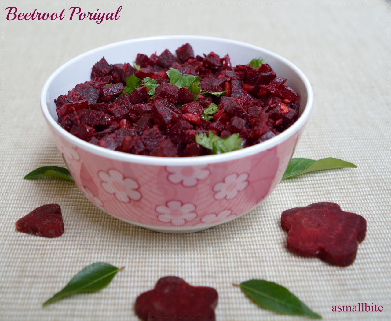 Beetroot Poriyal Recipe 1