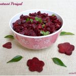 Beetroot Poriyal Recipe | Beetroot Stir Fry Recipe