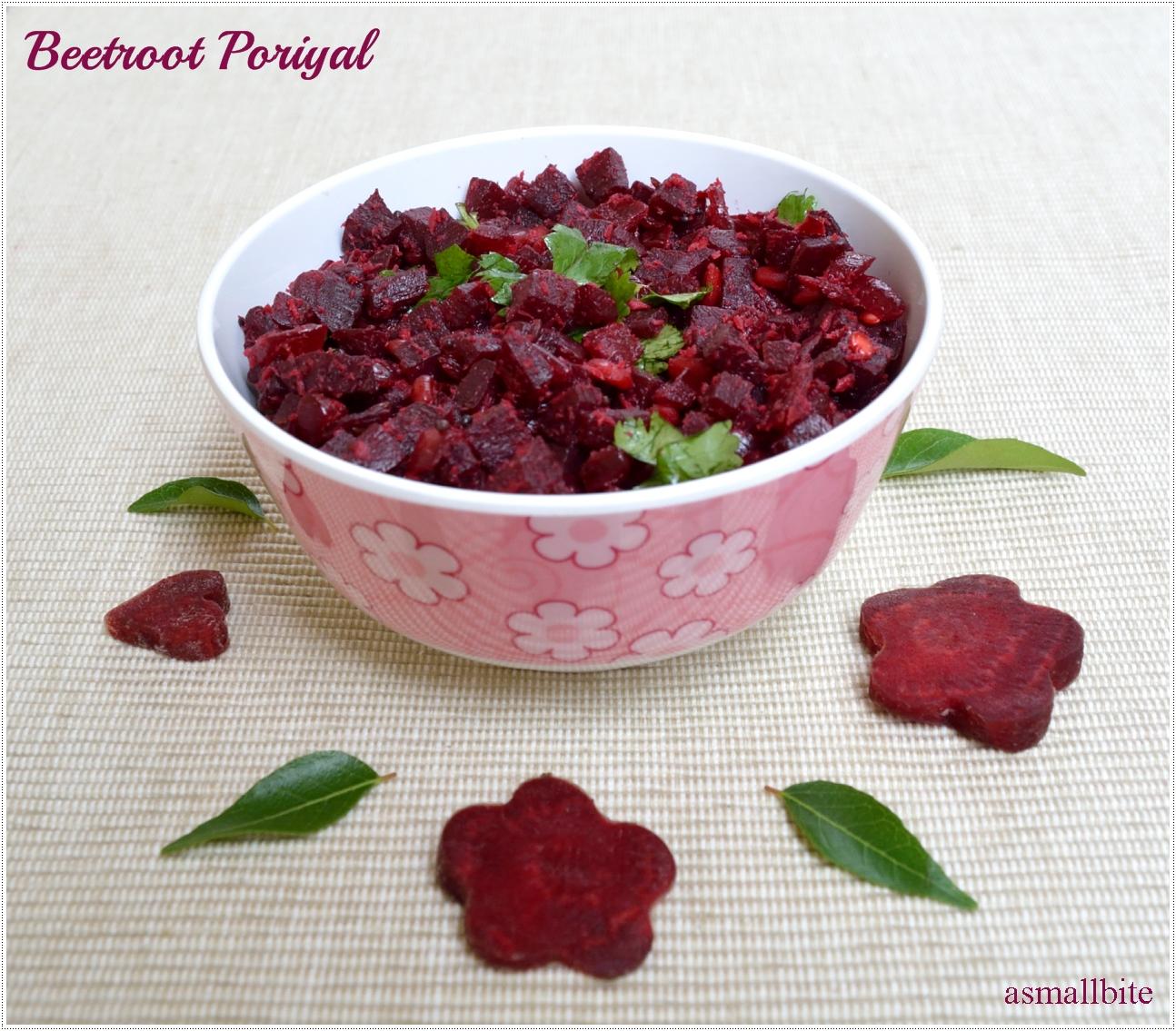 Beetroot Poriyal Recipe | Beetroot Recipes