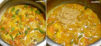 Kadhamba Sambar Recipe Step4
