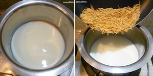 Semiya Payasam Recipe Step3