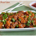Gobi Manchurian Dry Recipe | Cauliflower Manchurian