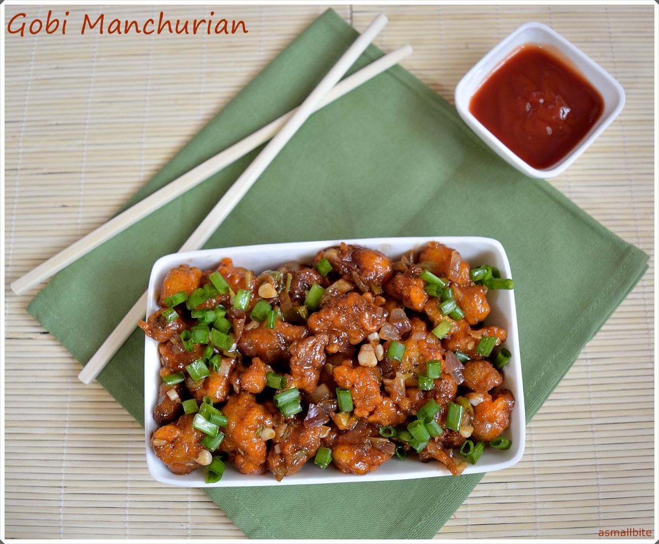 Dry Gobi Manchurian Recipe