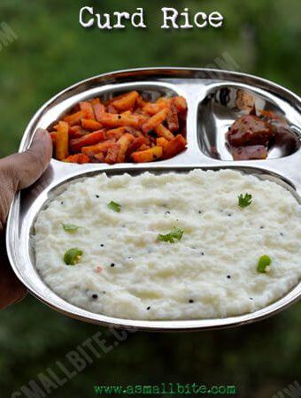 Curd Rice Recipe | Thayir Sadam Recipe