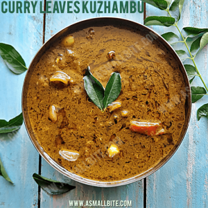 Curry Leaves Kulambu