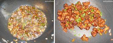 Dry Cauliflower Manchurian Step5