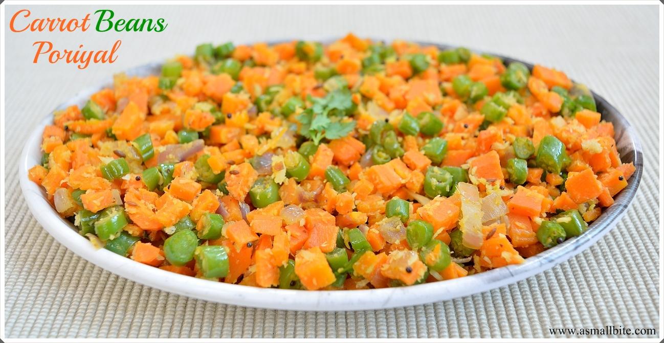 Carrot Beans Stir Fry