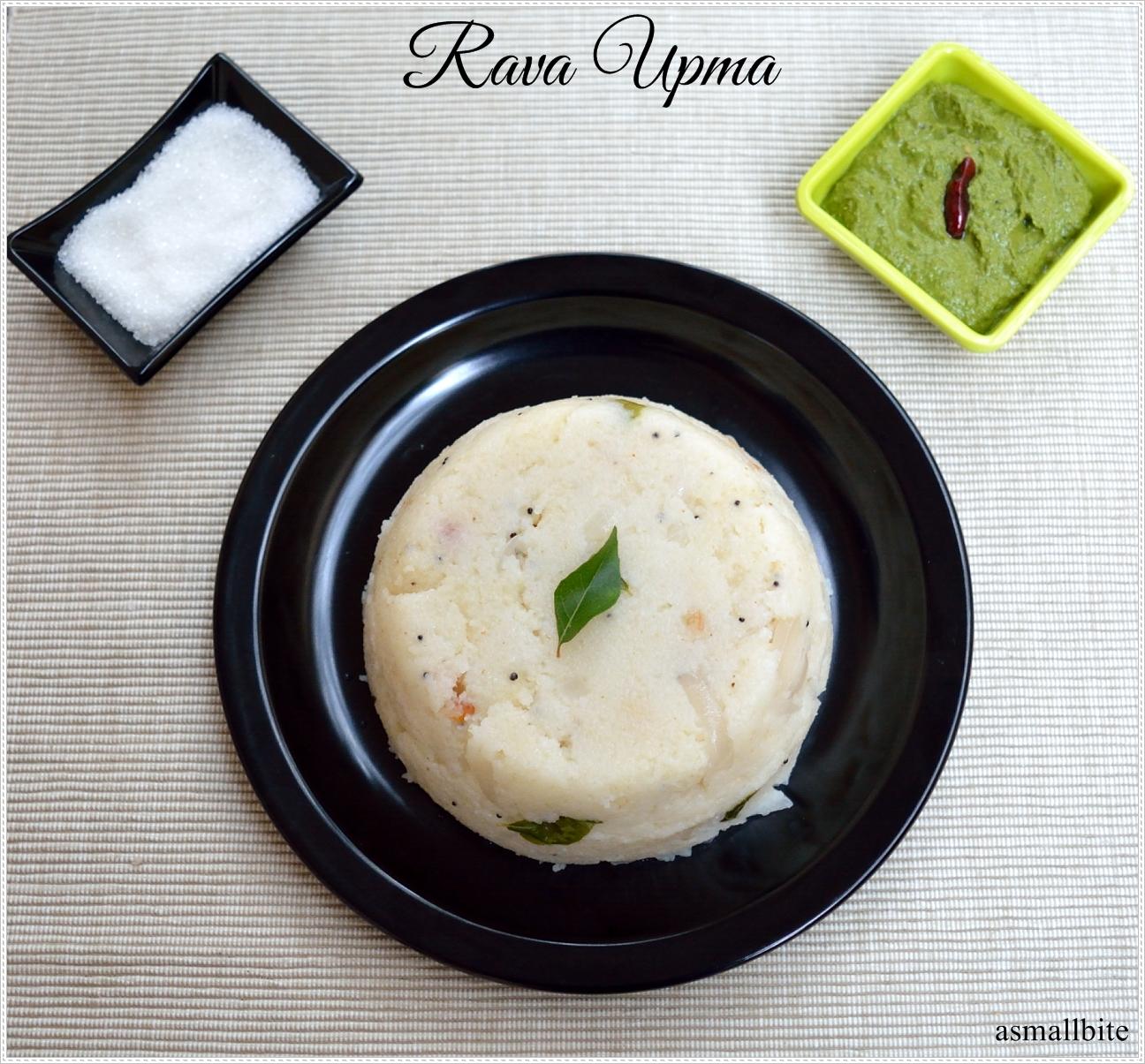 Rava Upma Recipe | Easy Breakfast Recipes