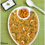 Tomato Pulao with Mint Leaves | Tomato Rice Bath