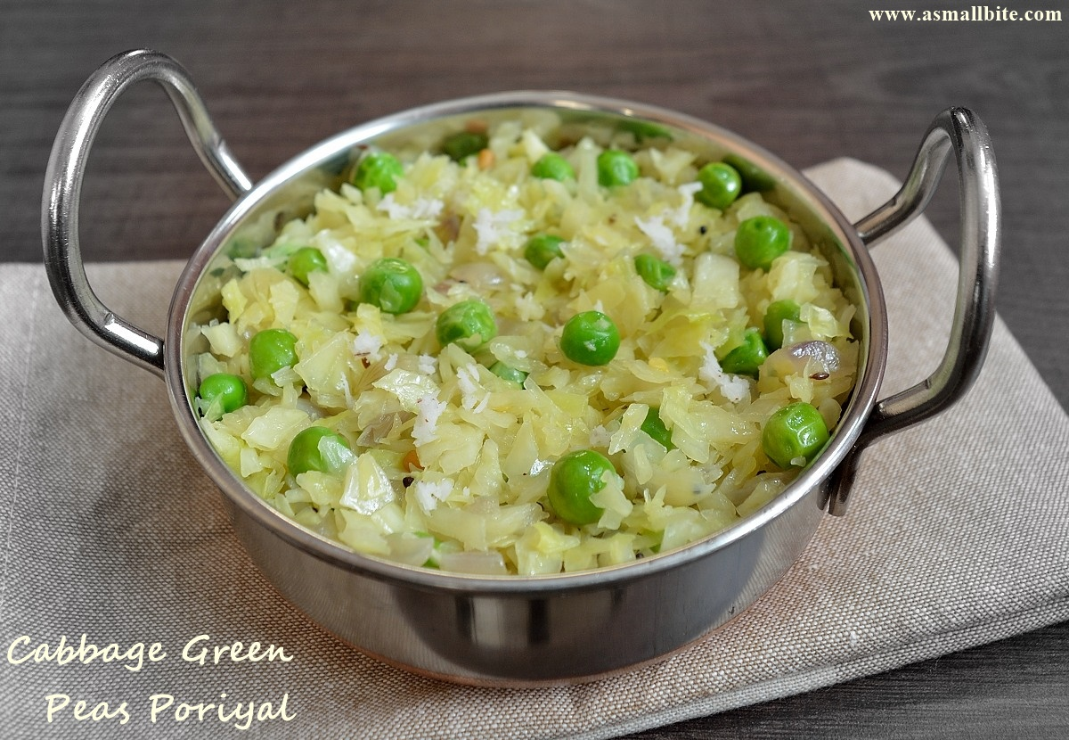 Cabbage Peas Stir Fry
