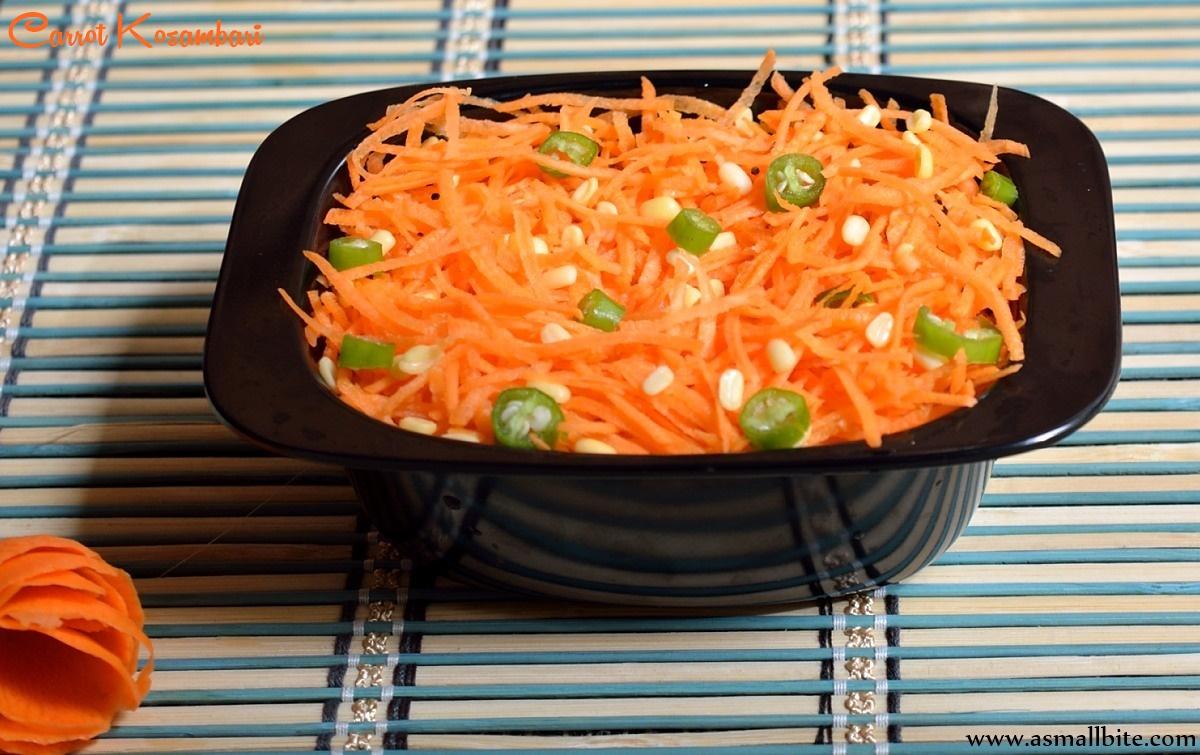 Carrot Kosambari 1