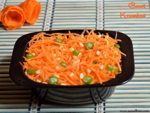 Carrot Moong Dal Salad