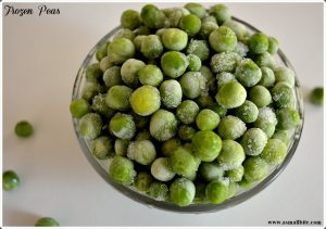 Homemade Frozen Peas