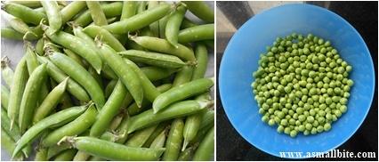 Frozen Peas Step1