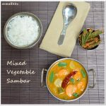 Mixed Vegetable Sambar Recipe | Easy Kadhamba Sambar