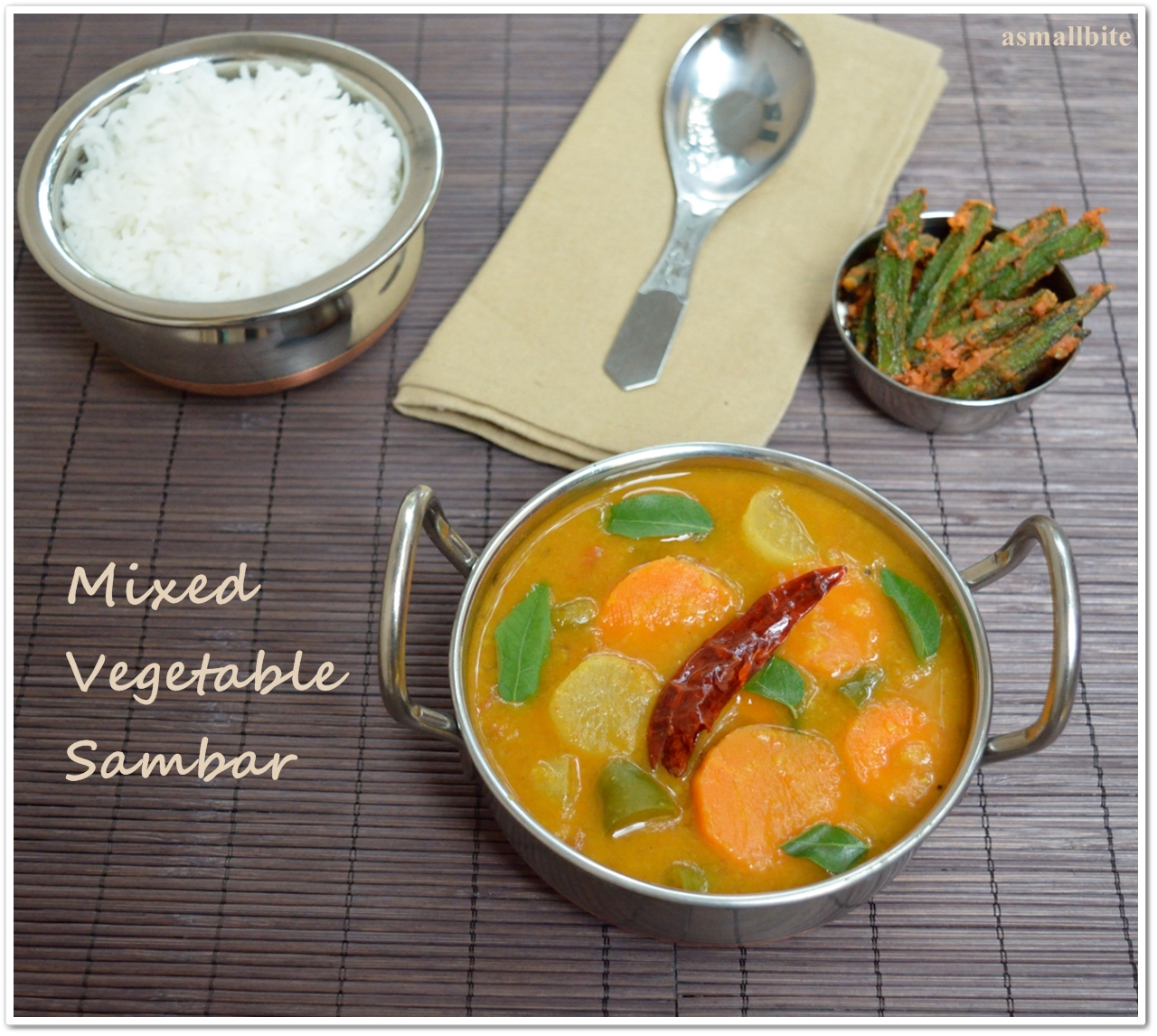 Mixed Vegetable Sambar 2