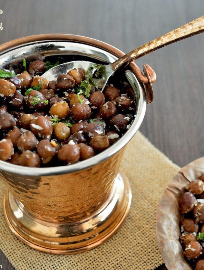 Black Channa Sundal | Ganesh Chathurthi Recipes