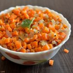 Carrot Poriyal | Carrot Stir Fry Recipe