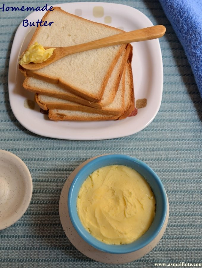 Homemade Butter   How to churn Butter at home