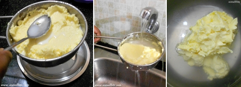 How to churn Butter at home