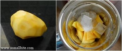 Mango Juice Step1
