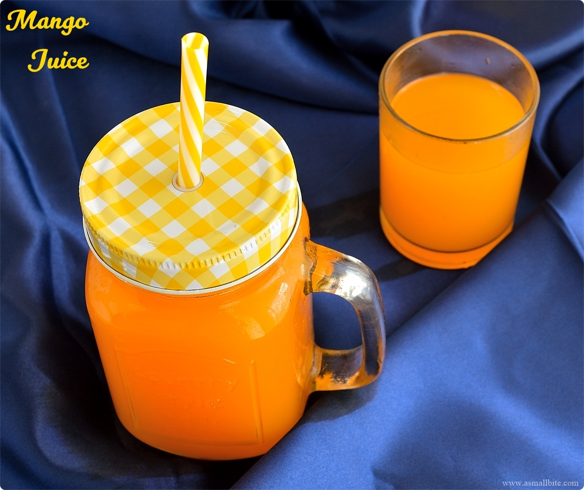 Mango Juice Recipe 3