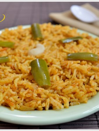 Vangi Bath | Brinjal Rice Recipe