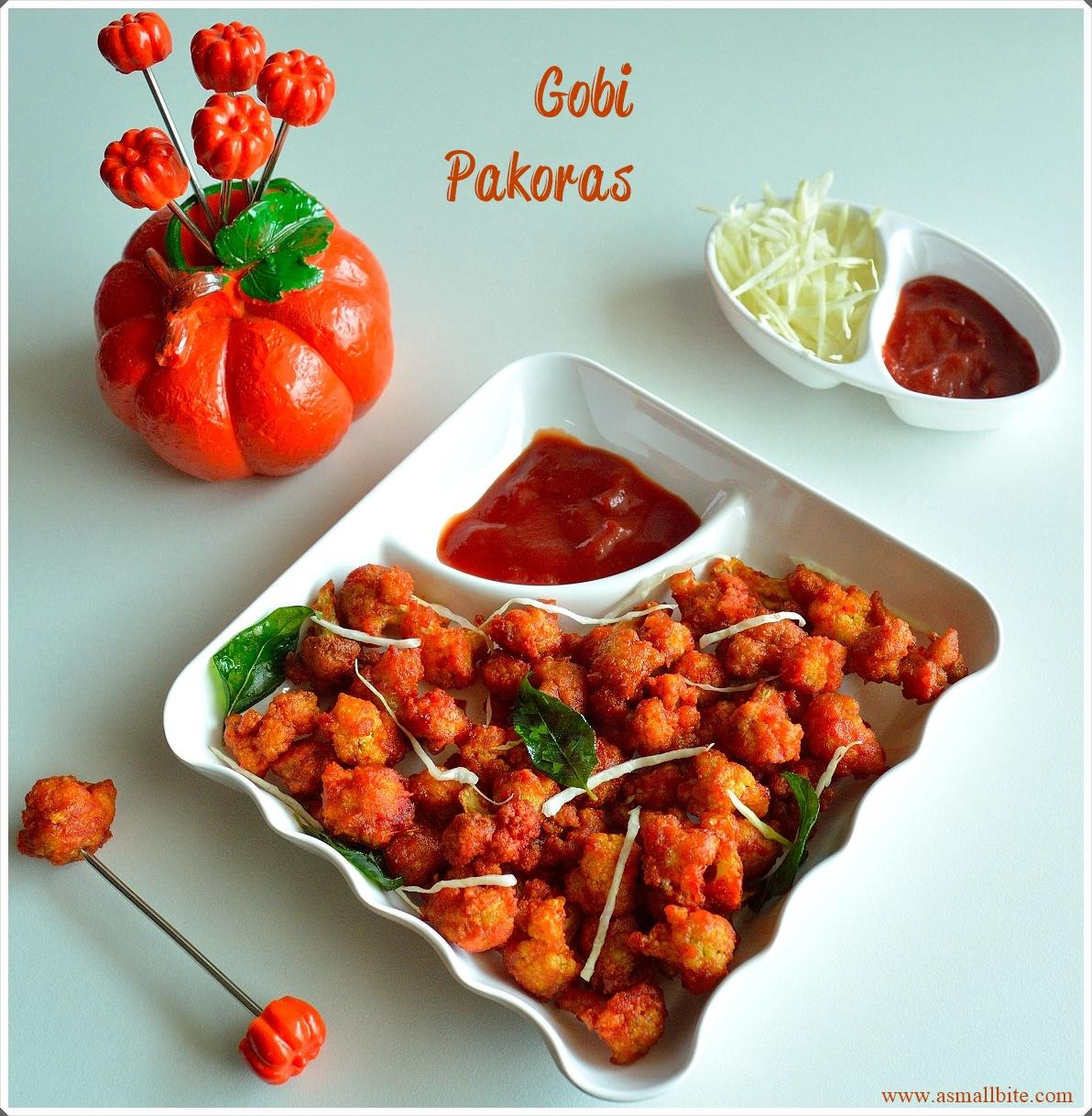 Gobi Pakoras Recipe | Cauliflower Pakoda