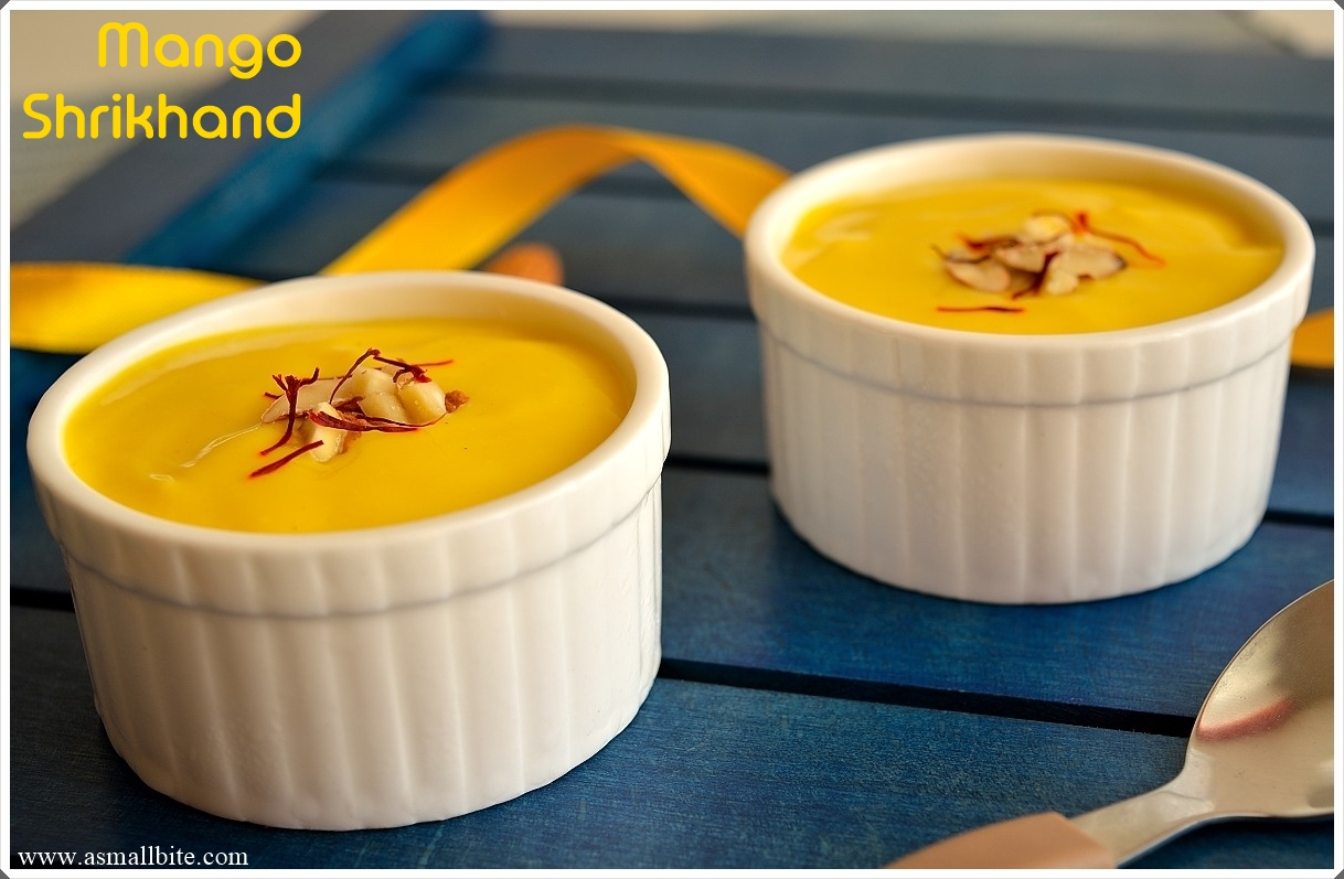 Mango Shrikhand Recipe — Dishmaps