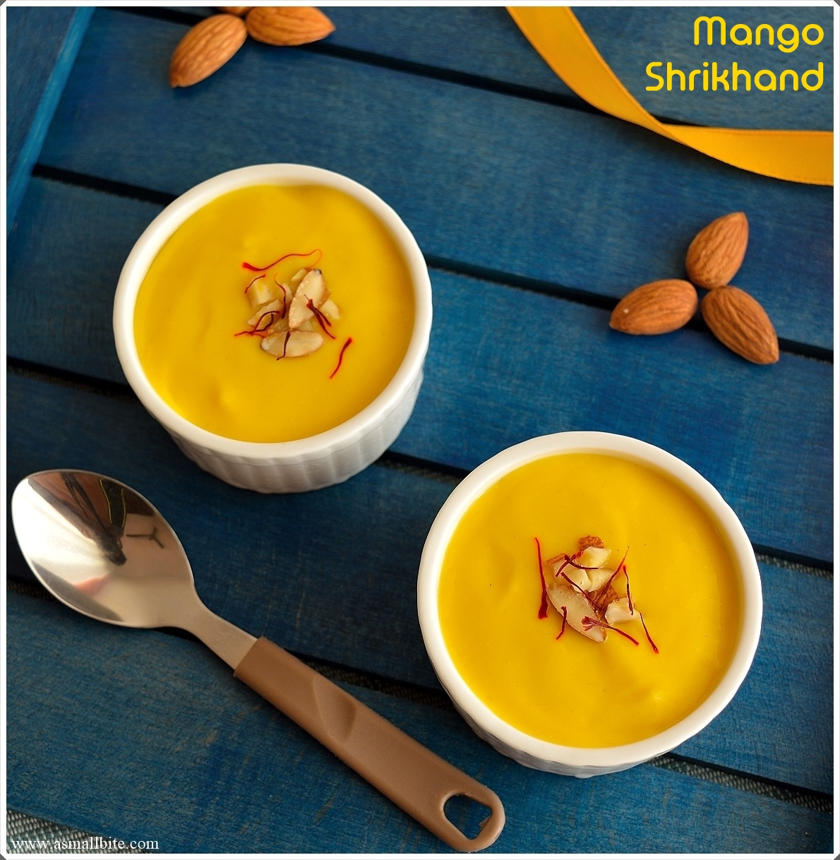 Mango Shrikhand Recipe 9