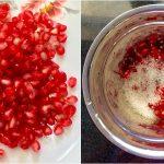 Pomegranate Milkshake Step1
