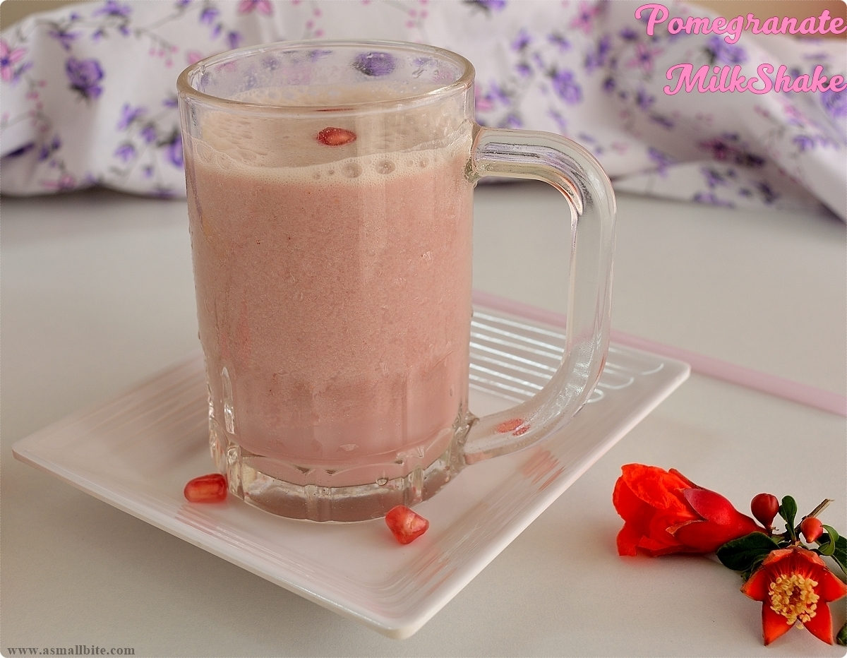 Pomegranate Milkshake 9