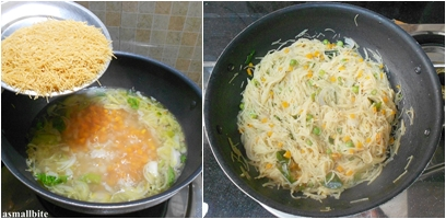 Savoury Vermicelli Recipe step4