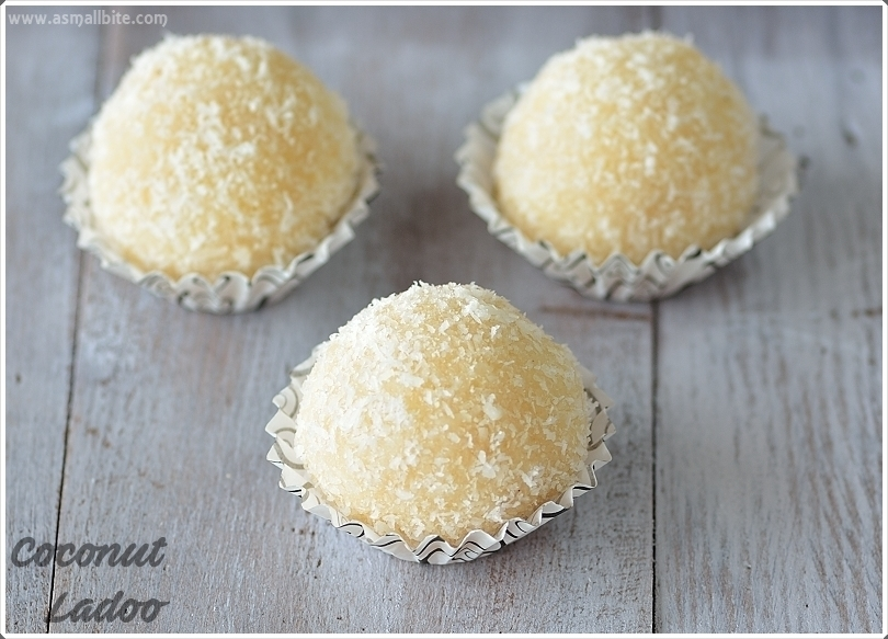 Coconut Ladoo with Milkmaid