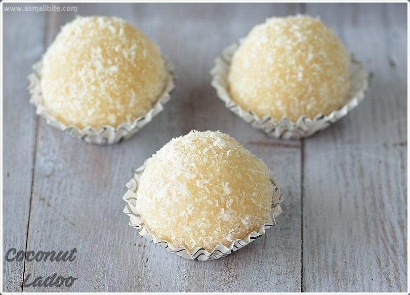 Coconut Ladoo 3