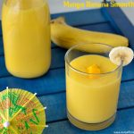 Mango Banana Smoothie Recipe | Banana Mango Smoothie