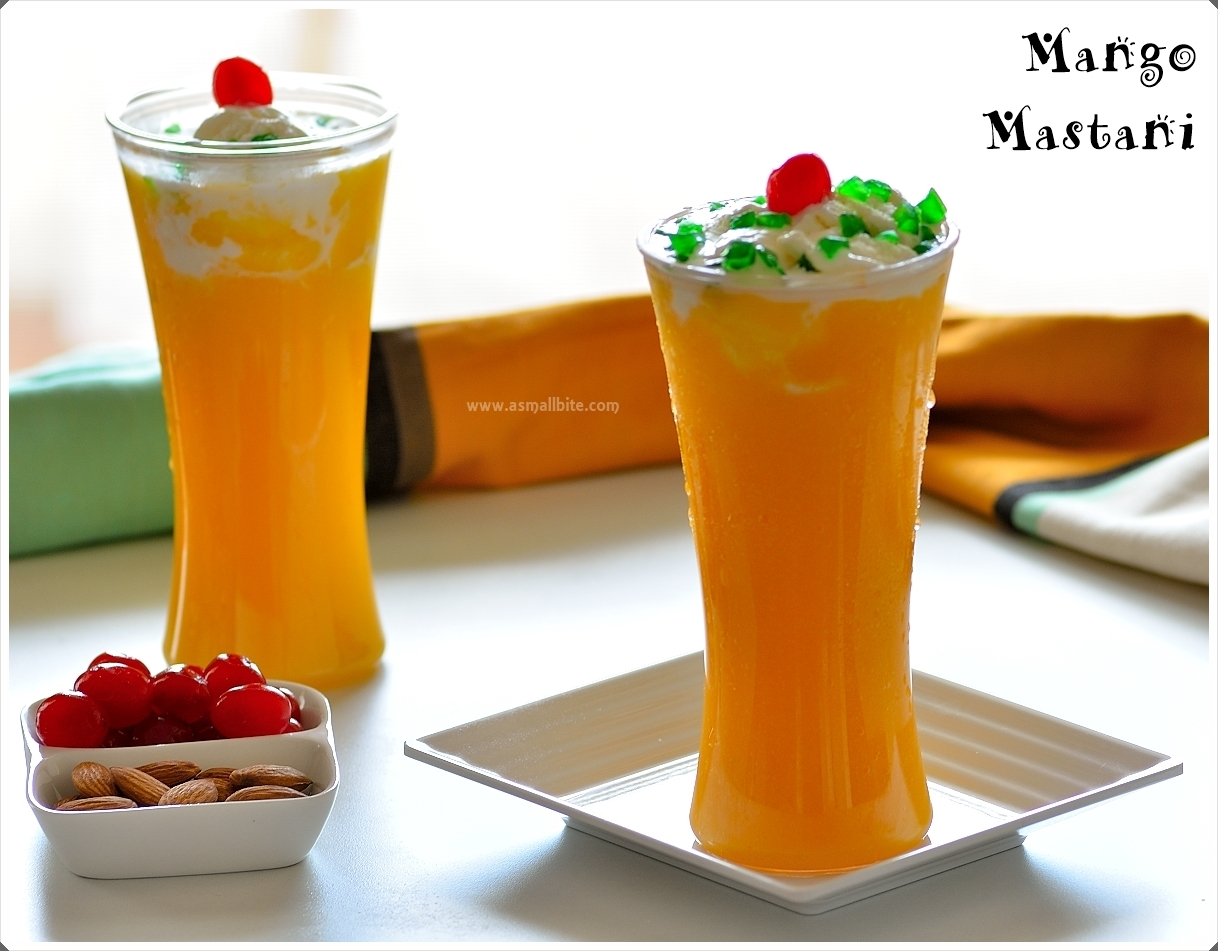 Mango Mastani Recipe | How to make Pune's Mango Mastani