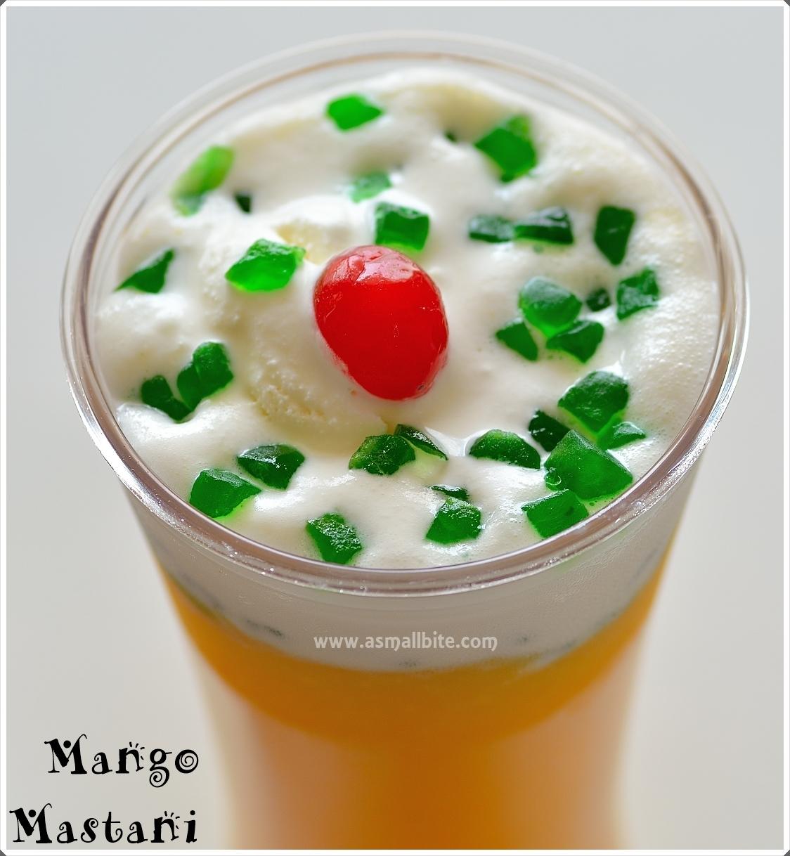 How to make Pune's Mango Mastani