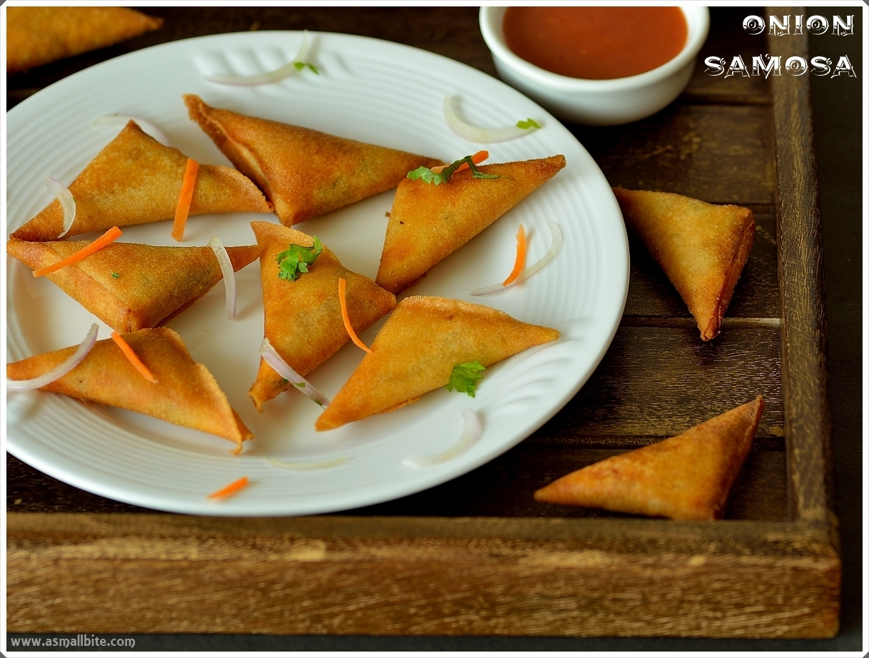 South Indian Onion Samosa