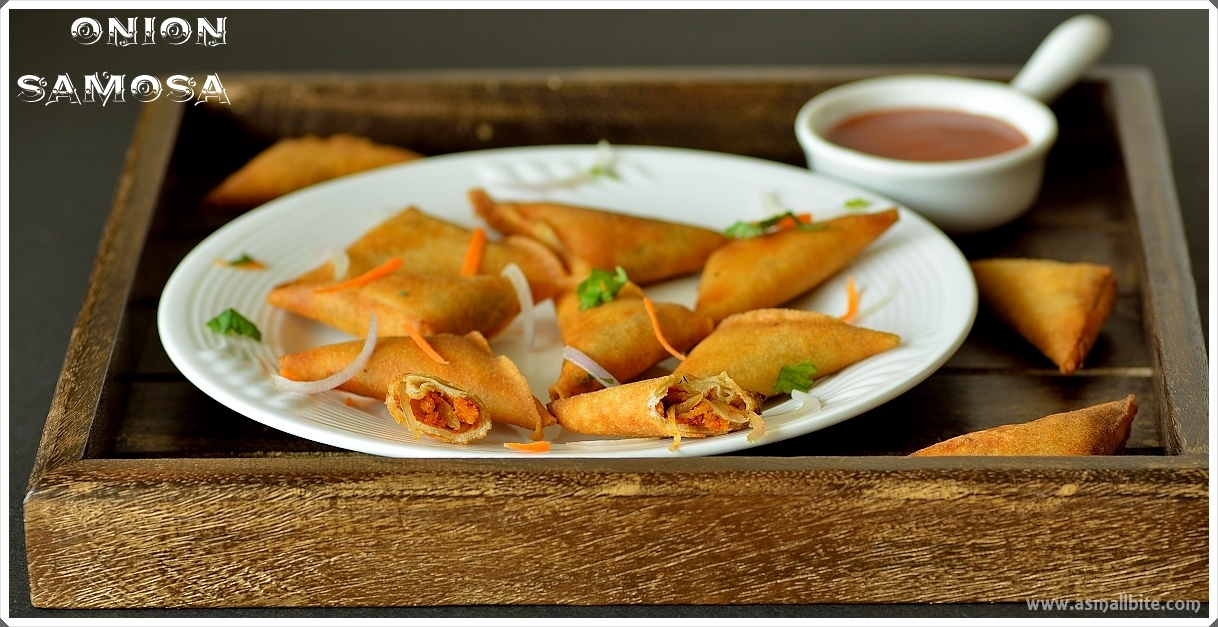 Mini Onion Samosa